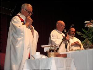 Padre Alberto Ibañez Padilla y Padre Francisco Muñoz Molina