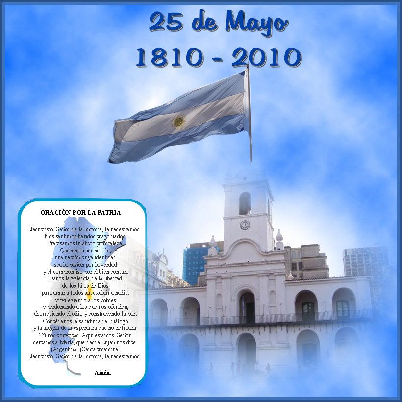 Feliz día de la Patria – Oremos porArgentina