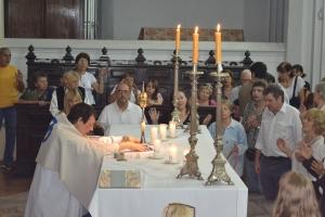 Misa al esp santo