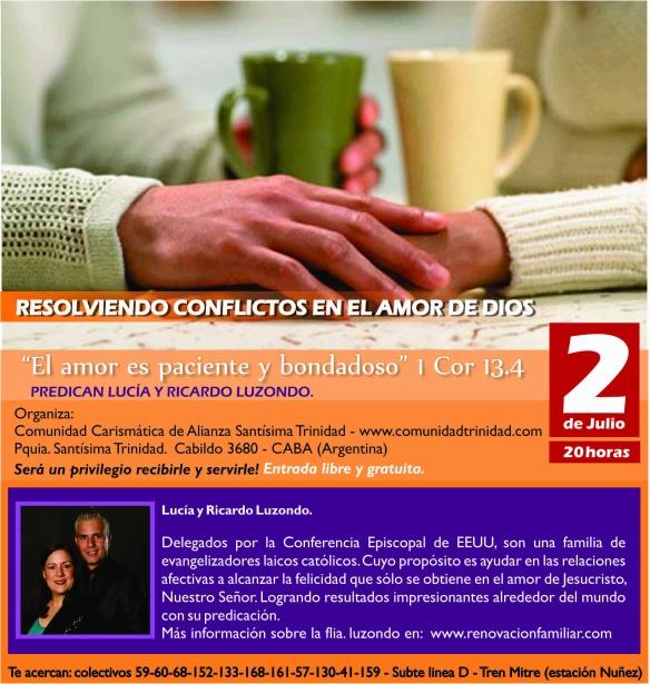 Predican Ricardo y Lucía Luzondo